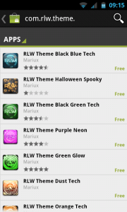RLW Live Wallpaper Pro - More themes to download from the market