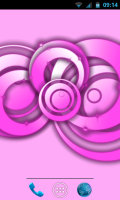 RLW Live Wallpaper Pro - Pink Blossom theme
