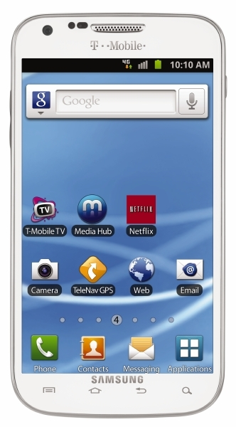 White Samsung Galaxy S II Coming to T-Mobile Soon