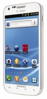 Samsung Galaxy S II White Right Angle View