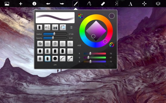 SketchBook Express is the Perfect App for Artists on the Go