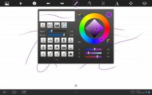 Sketchbook Palette