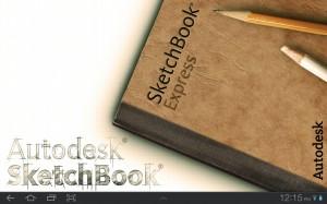 Sketchbook Splash Screen