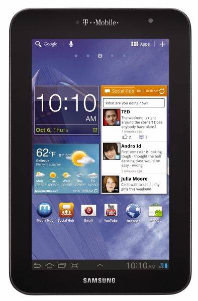 T-Mobile Announces 4G Samsung Galaxy Tab 7.0 Plus for $249.99