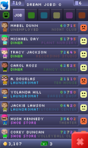 Tiny Tower - Bitizens list