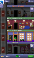 Tiny Tower - Dark floors mean out of stock