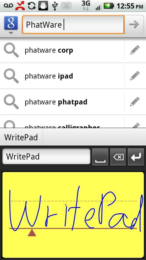 WritePad Brings Handwriting Recognition to Android Tablets and Phones