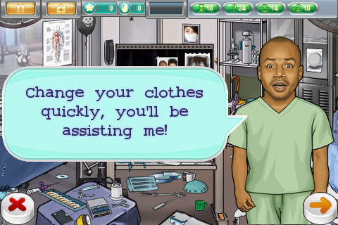 "Plays ""Scrubs"" the Popular ABC Sitcom Game for Android"