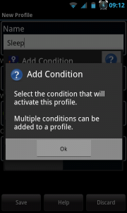 Actions - Add condition help
