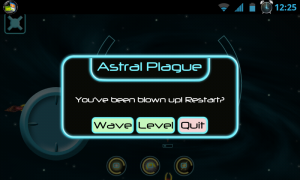 Astral Plague - Blown up! Ouch!