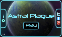 Astral Plague -Menu