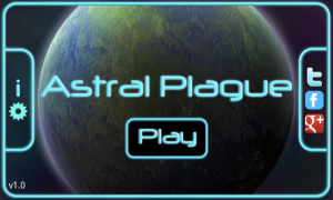 Astral Plague -Menu