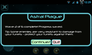 Astral Plague - Wave completed