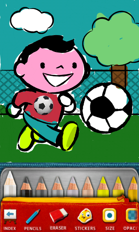Color and Draw for Kids Phone Edition, a Great App for Children