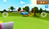 Frisbee - Beautiful sunshine effects