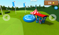 Frisbee - Left and Right onscreen controls