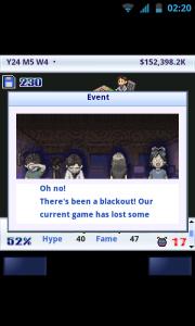 Game Dev Story - Blackouts!