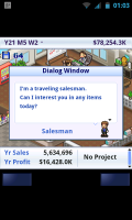 Game Dev Story - Salesman