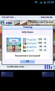 Game Dev Story - Training