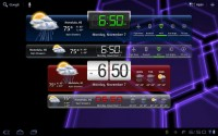 HD Widgets Android Tablet