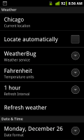 HD Widgets Settings