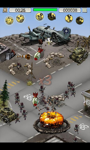 Hills of Glory: WWII – a Vertical Tower Defense Game