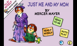 Just Me And My Mom - Title page