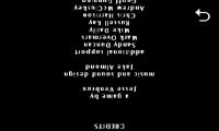 Karoshi - Upside down credits