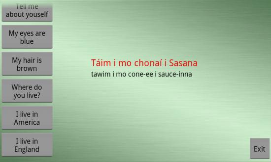 Learn Irish Premium. A Functional & Fun App to Learn Irish Gaelic