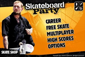 Mike V Skateboard Party HD Menu