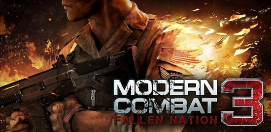 Modern Combat 3: Fallen Nation HD Shooter Game Released for Android, iOS