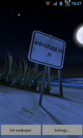 My Beach HD - Customise the sign