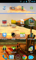 My Beach HD - Home screen 2