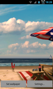 My Beach HD - Patriotic beach