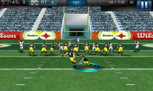 NFL Pro 2012 Game Play 3