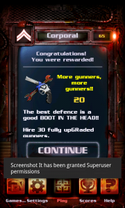 Night of The Living Dead Defense - Rewards