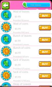 Pet Inn - Leaf buying options