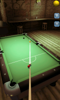 Pool Bar HD - Aim setting provides guidance of balls direction