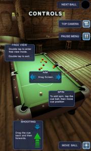 Pool Bar HD - Controls