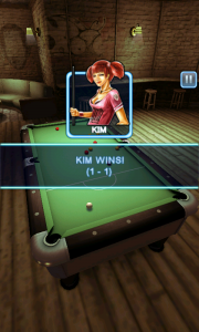 Pool Bar HD - Kim wins