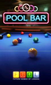 Pool Bar HD -  Main splash page