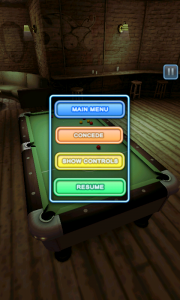 Pool Bar HD - Pause menu