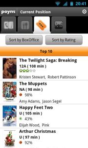 Poynt - Cinema Top 10