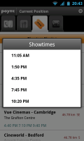 Poynt - Cinema showtimes