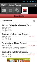 Poynt - Event listing