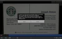 ScanBizCards Web Sync
