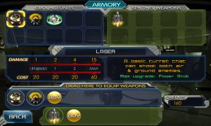 Sentinel 3 Homeworld - Armoury