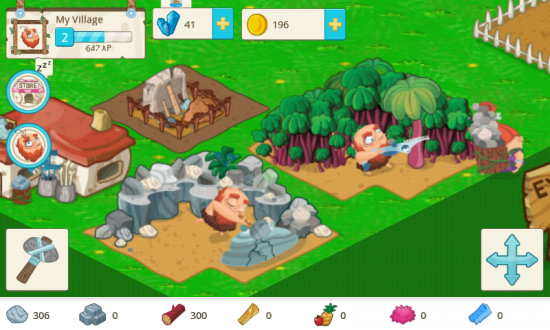 Tiny Village – Tycoon Builder Game with Prehistoric Fun