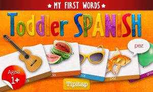 Toddler Spanish - Main splash page