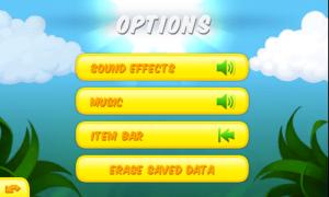 Toki Tori - Options